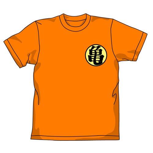 ドラゴンボール改 亀仙流Tシャツ改 カメオレンジ サイズ:L