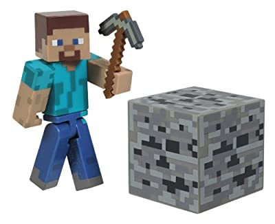 Maven Gifts: Minecraft Core Steve and Enderman Action Figure with Accessories Bundle from Maven Gifts