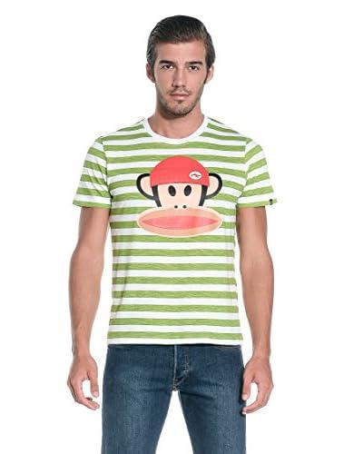 Paul Frank T-Shirt Manica Corta [Bianco/Blu]