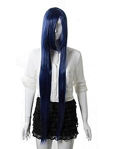 MAYSU Naruto Hinata Hyuga Long Straight Cosplay wig Costume Party wig-cs02
