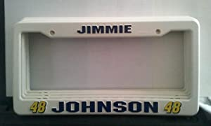 Buy #48 Jimmie Johnson License Plate Holder by Rico