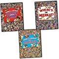 Where's The Meerkat? 3 Books Collection Set Pack By, Paul Moran (Where's The Meerkat? Where's The Meerkat? On Holiday Where's The Meerkat? Journey Through Time