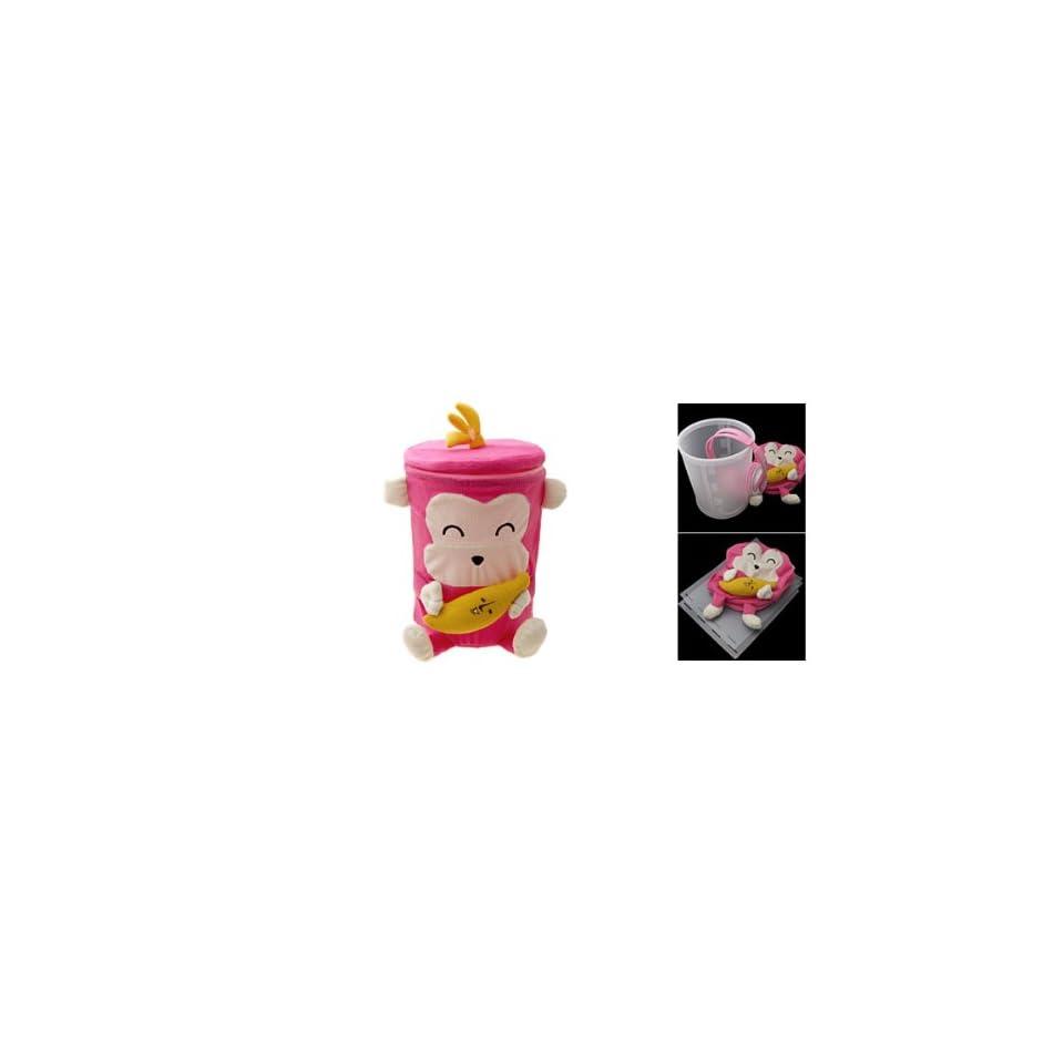 Amico Cute Mini Monkey Design Hot Pink Home Gadget Trinket