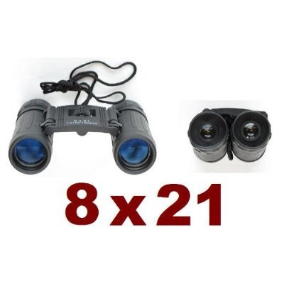 Binoculars Compact 8x 21 Spy Bino Sporting Games Safety Camping