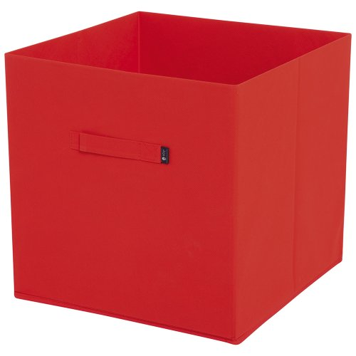 JoJo Maman Bebe Fabric Storage Cube, Red