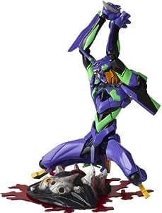 Evangelion Actionfigur Revoltech Yamaguchi #100 Eva 01 DX Version 15 cm