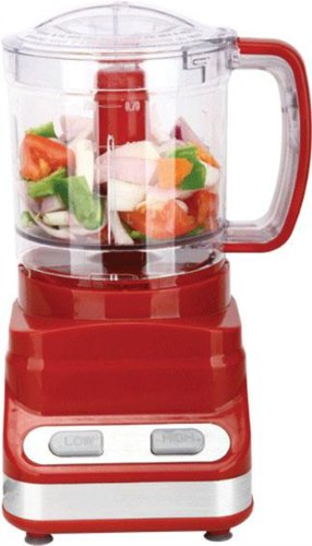 Brand New, Brentwood - 3 Cup (24 Oz) Food Processor - Red (Appliances - Small Appliances And Housewares) front-519092