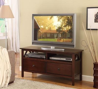 Cheap Linon Titian TV Stand – 86158ATOB-01-KD-U (B007CEGZ5G)
