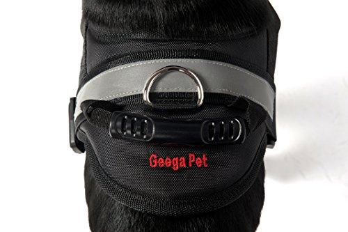 dog harness geega pet soft no pull pet harness vest reflective strip padded dog body harness xl. Black Bedroom Furniture Sets. Home Design Ideas