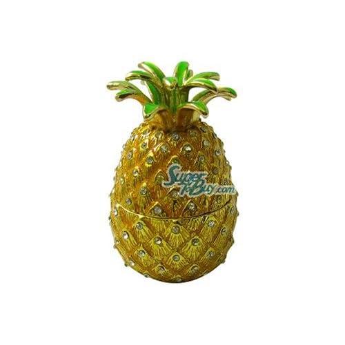 Amazon.com : Golden Pineapple - Jewelry Trinket Box