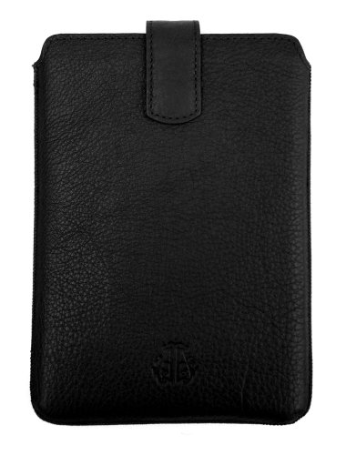 Artisan Series Leather Elevate Case for Amazon Kindle & Kindle Touch - Black