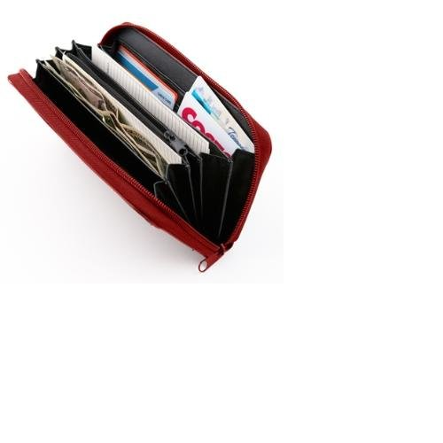 Red Designer Wallet Envelope System (Dave Ramsey's Financial Peace University)