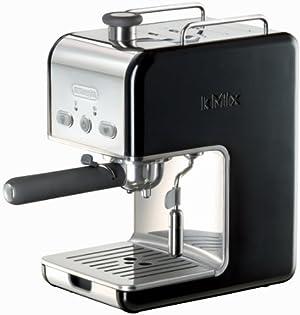 DeLonghi Kmix 15 Bars Pump Espresso Maker, Black