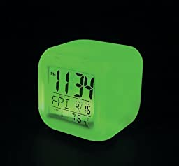COLOR CHANGING MOOD CLOCK