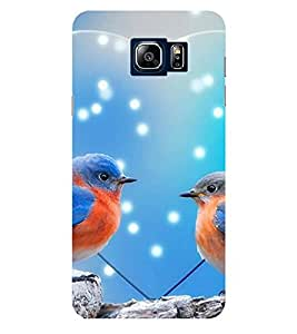 Evaluze love birds Printed Back Case Cover for SAMSUNG NOTE 5 (2015)