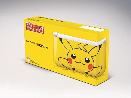 Nintendo 3DS XL Limited Pikachu Yellow Edition