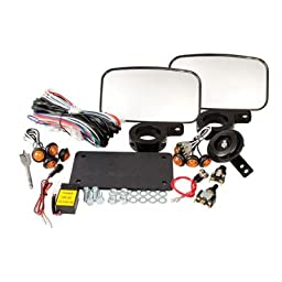 Tusk UTV Horn & Signal Kit - With Mirrors -Fits: Polaris RANGER EV 2010-2014