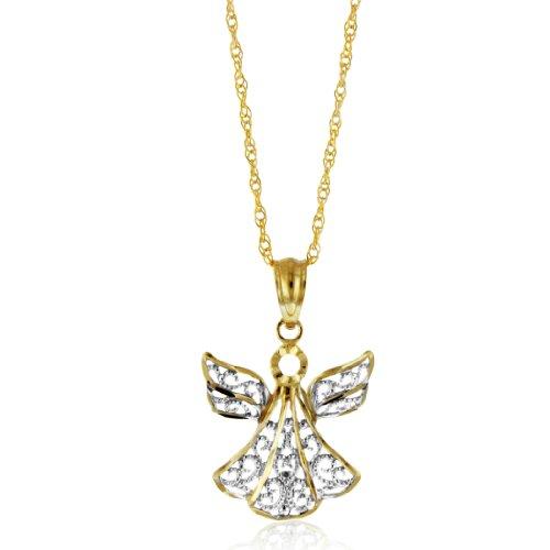 Diamond J Necklace