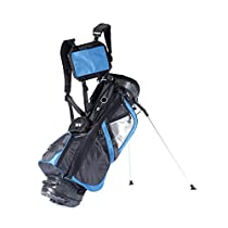Wellzher Omni Golf Stand Bag (Blue)