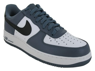 Nike Men's NIKE AIR FORCE 1 '07 BASKETBALL SHOES 8.5 (BLUE DUSK/BLACK WHITE)