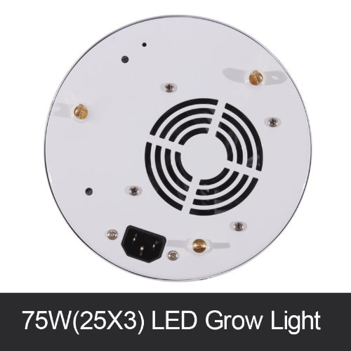 Dropshipping Epistar 3W Led 25X3W Ufo Led Grow Light For Indoor Hydroponics Diy System