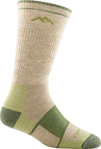 Darn Tough Vermont Women'S Boot Cushion Socks, Green Tea, Medium front-1016898