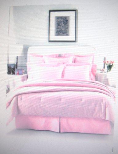Lauren Ralph Lauren University Pink Oxford Full Bedskirt