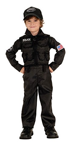 Baby Boys - Policeman Swat Toddler Costume Halloween Costume