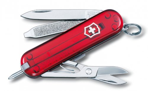 Victorinox Swiss Army Signature Lite Pocket Knife - Ruby