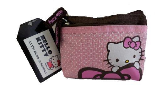 Official Sanrio Hello Kitty Pink Dots Coin Purse