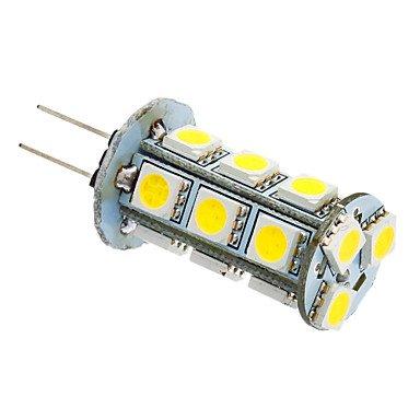 Gy6.35 Gu4 G4 Gy5.3 3W 18X5050Smd 180-220Lm 6000K Cool White Light Led Corn Bulb (12V)
