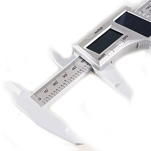 aweek solar digital caliper lcd vernier micrometer electronic digital gauge 6 150mm hardware. Black Bedroom Furniture Sets. Home Design Ideas