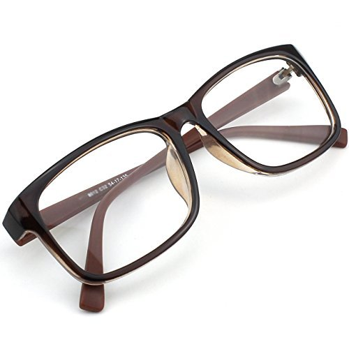 glasses-queen-201512-casual-fashion-rectangular-frame-clear-lens-eye-glassesbrown-by-glasses-queen