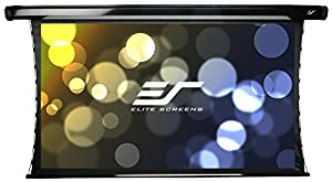 Elite Screens CineTension2, 110-inch 16:9, Tab-Tensioned Electric Drop Down Projection Projector Screen, TE110HW2-E36