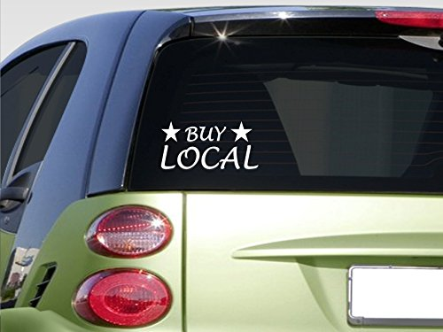 "Buy Local 8"" Sticker *E875* Farmer'S Market American Made Buy Local 2A"