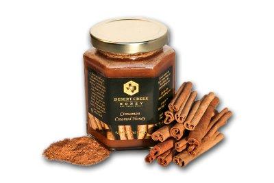 14oz Cinnamon Creamed Honey