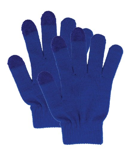 Wholesale Lots Of 2 Pcs Smart Texting Gloves - Works On All Smartphone And Tablet Touch Screens - Unisex, Ro front-824978