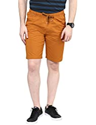 Urban Eagle By Pantaloons Men's Solid Chino Shorts