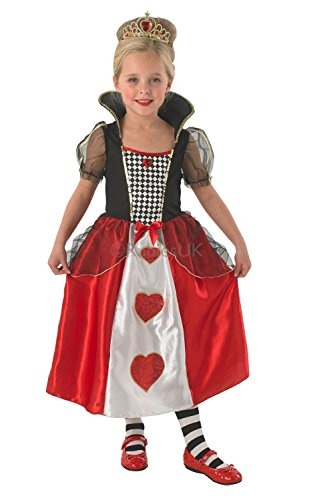 queen of hearts costume kids medium 5 6 years