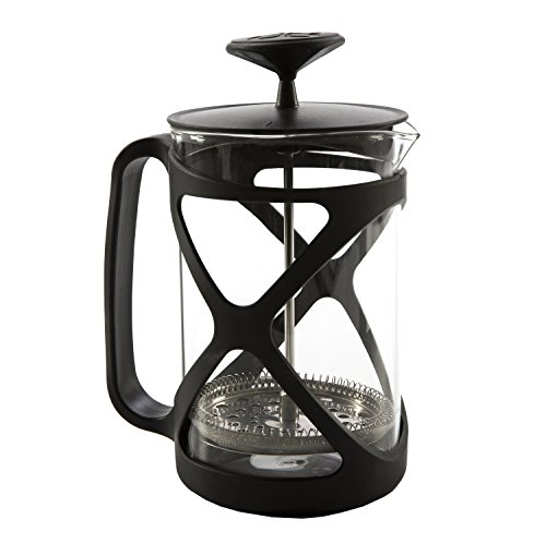 Primula Tempo Coffee Press - For Rich, Non-Bitter Coffee - French Press Design - Easy to Use - Makes 6 Cups - Black