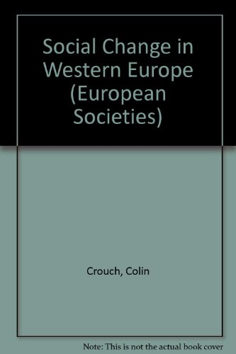 changes and continuities in western europe Chapter 12: the late middle ages: crisis, continuity, and change the late middle ages (1300-1450) saw the decline of medieval civilization this chapter discusses the economic, political, social, and spiritual crises that afflicted europe during this period.