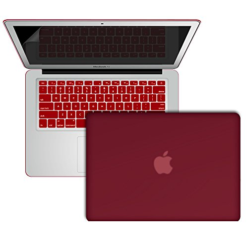 Review Slickblue (TM) MacBook Air-13 Rubberized Hard Frost Case Cover With Keyboard & Screen Protec...