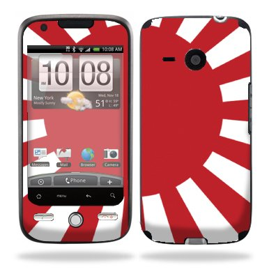 Protective Vinyl Skin Decal for HTC Droid Eris Verizon - Rising Sun