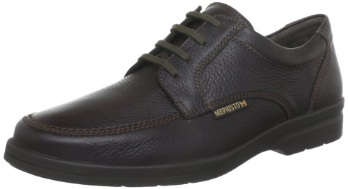 Mephisto JANEIRO NATURAL 7251 DARK BROWN, Scarpe stringate uomo, Braun (DARK BROWN NATURAL 7251), 42.5