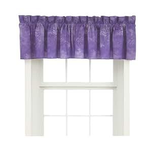 Caribbean Coolers Window Valance Purple