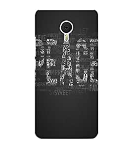 MEIZU M3 NOTE PEACE Back Cover by PRINTSWAG