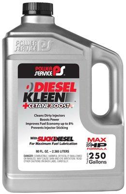 Power Service 03080-06 +Cetane Boost Diesel Kleen Fuel Additive