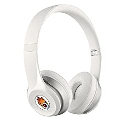 Acid Eye White Bluetooth Wired and Wireless overear headphone S-460 with Aux cable connector