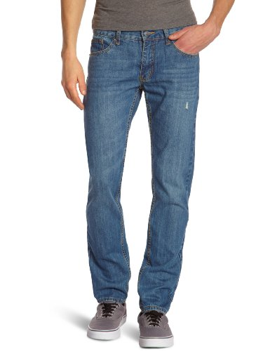 Cheap Monday - Jeans slim, uomo, Blu (Bleu (Folk Blue)), 46/48 IT (33W/34L)