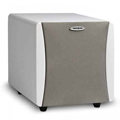 Velodyne 80-IMPMINIW Impact Mini 6.5-Inch Subwoofer (White Vinyl, Set of 2) by Velodyne